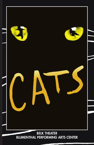 CATS Playbill by Blumenthal Performing Arts , issuu