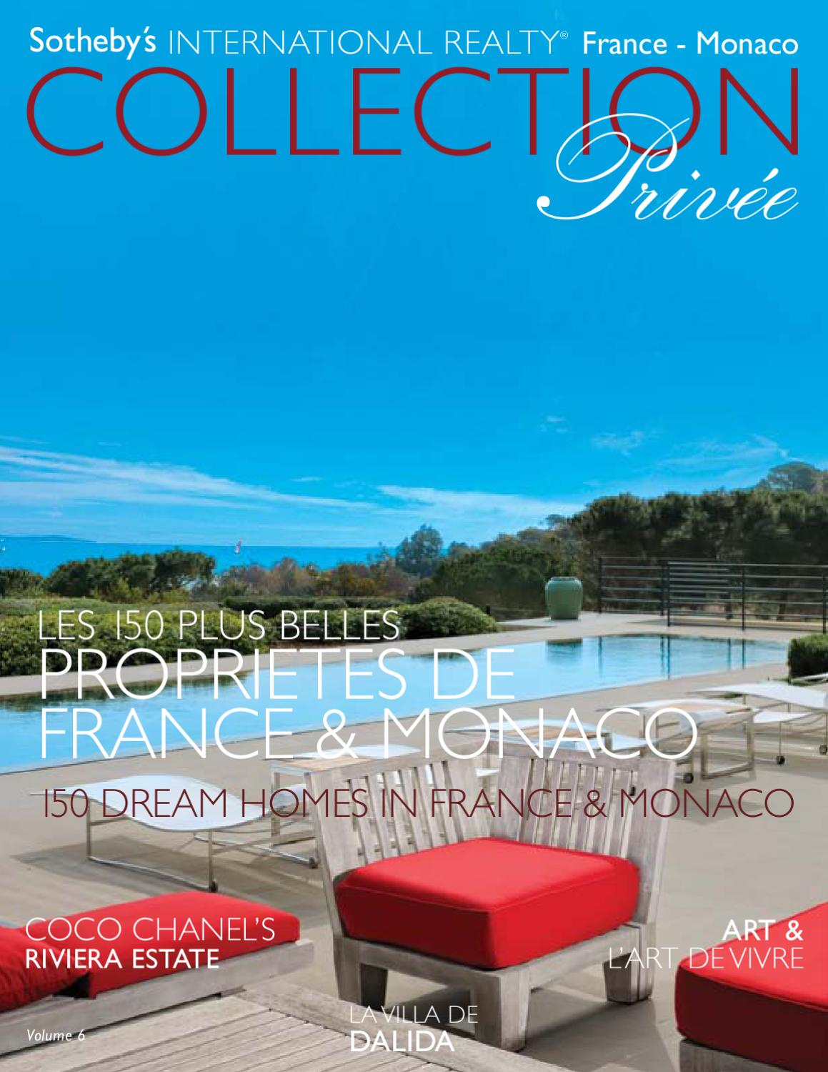 collection privee vol 6 by sotheby 39 s international realty france issuu. Black Bedroom Furniture Sets. Home Design Ideas