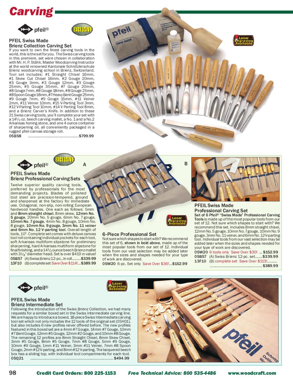 Pfeil Straight Wood Carving Veiners No 11