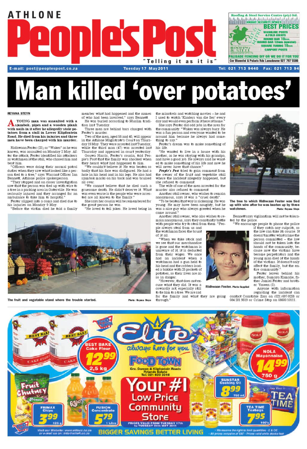 Peoples Post Athlone Edition 17 05 2011 By People S Post