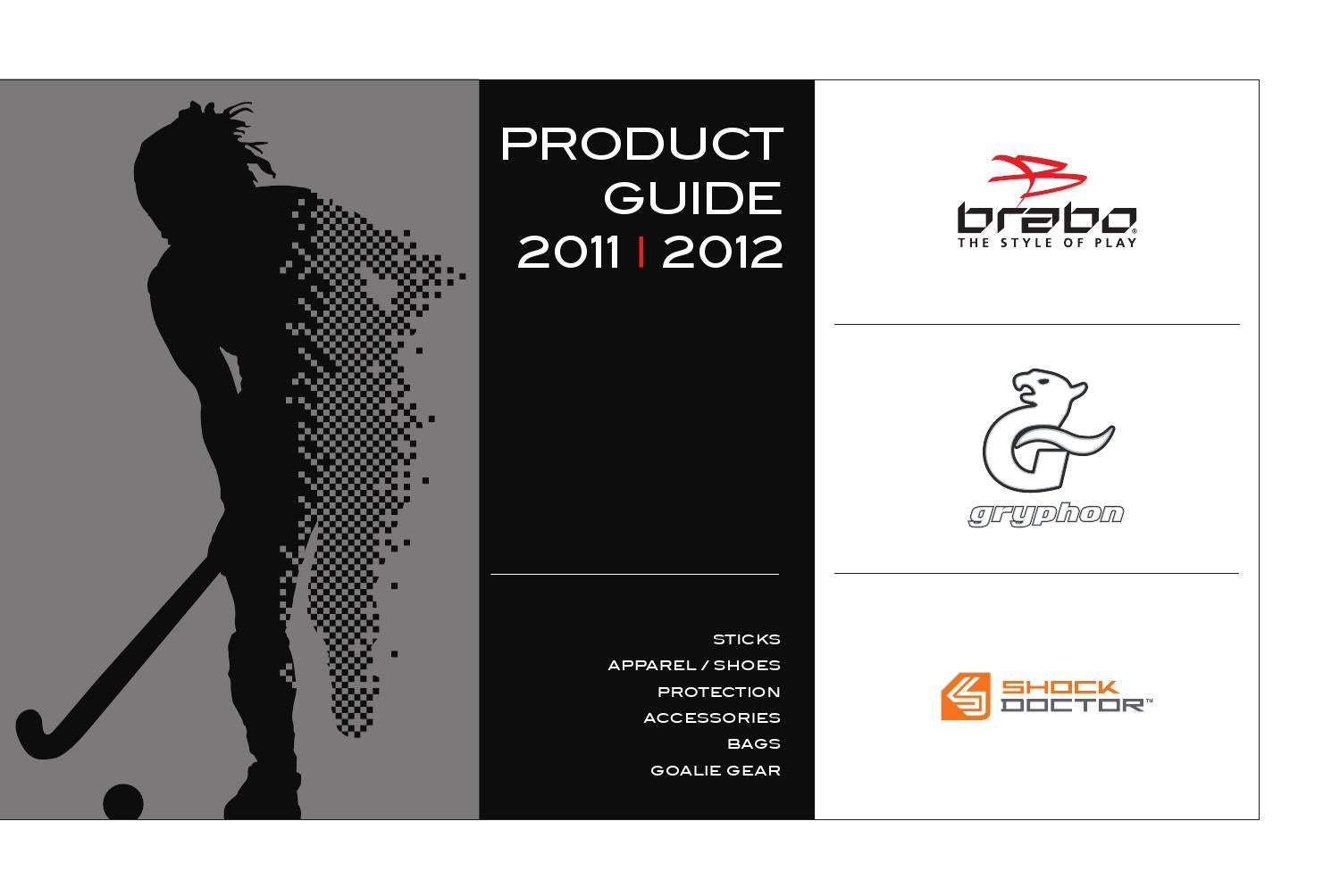 285a50a7d07 2011-2012 Hockey Product Guide Complete by Brabo Hockey - issuu