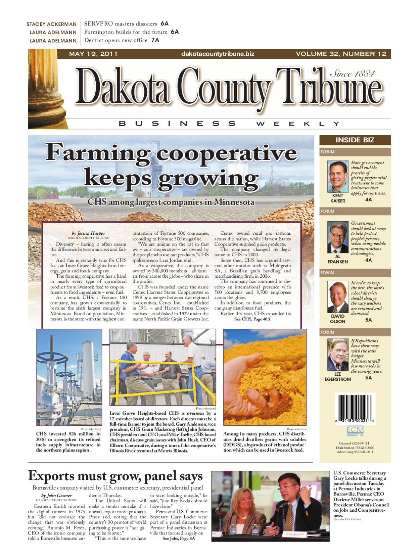 05/19/2011 - dakota county tribune business weekly by dakota