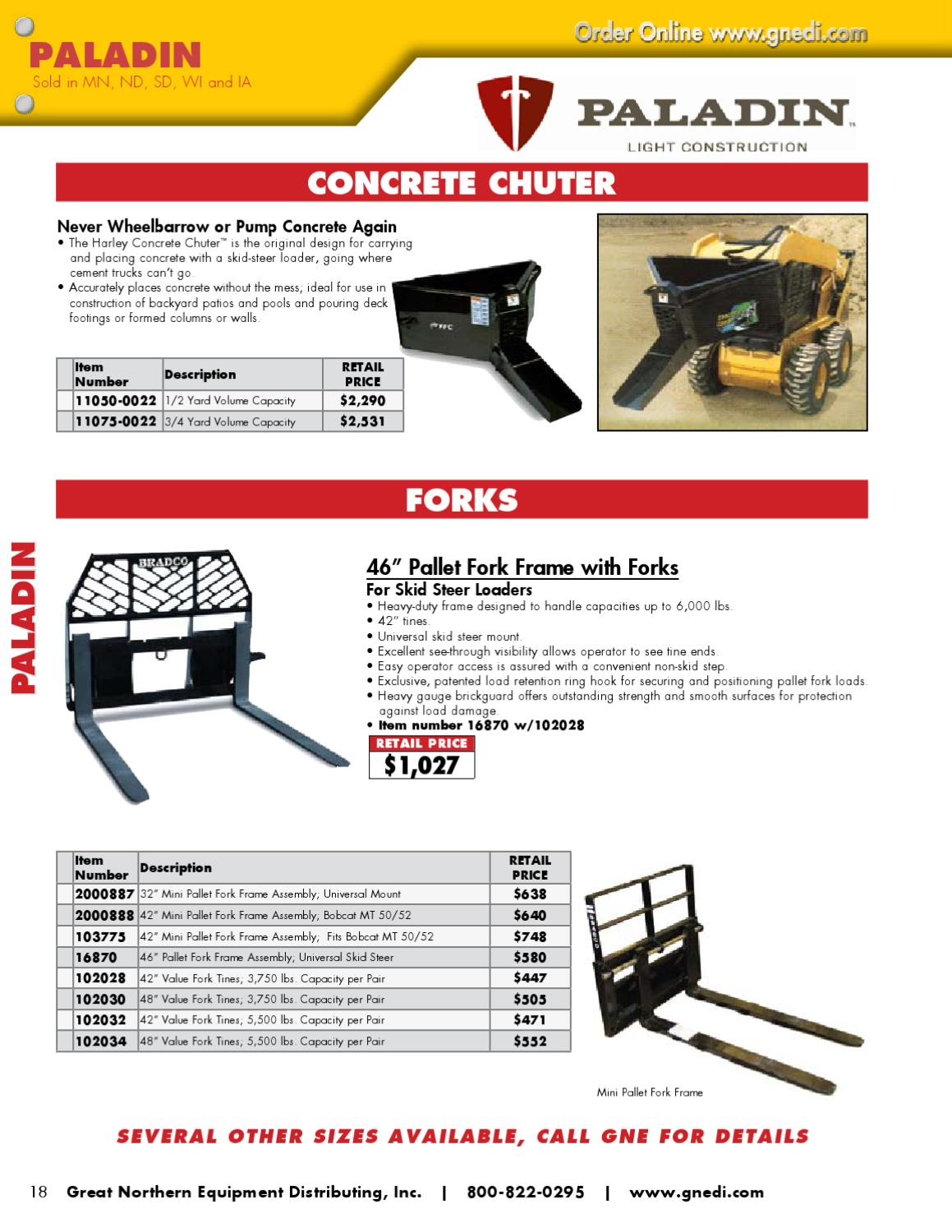 Great Northern Equipment (GNE) - Wholesale Catalog by Great