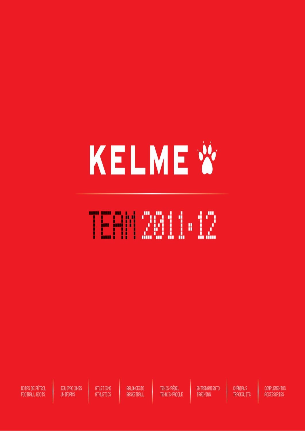 d96f5d58bd Kelme Team 2011-12 by Joan Grasa - issuu