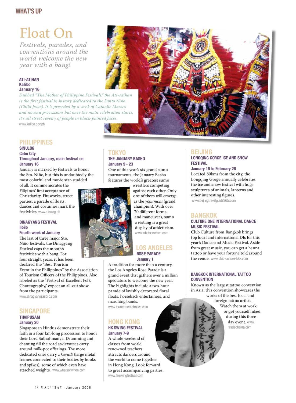 Mabuhay Magazine, January 2011 by Eastgate Publishing