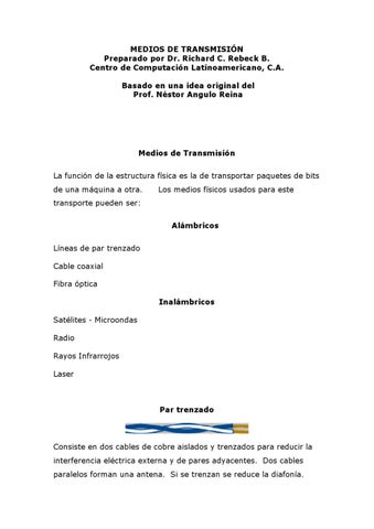 Medios De Transmision By Diana Catolico Issuu
