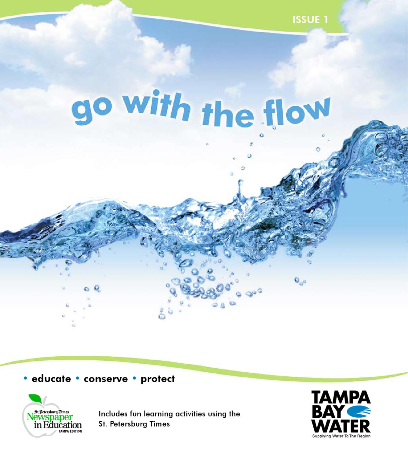 Go With The Flow Water Education by Tampa Bay Water issuu