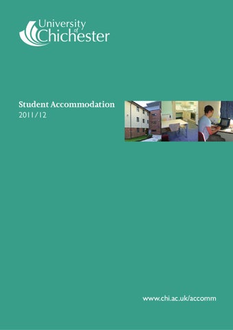 University Of Chichester On Campus Accommodation 201112 By