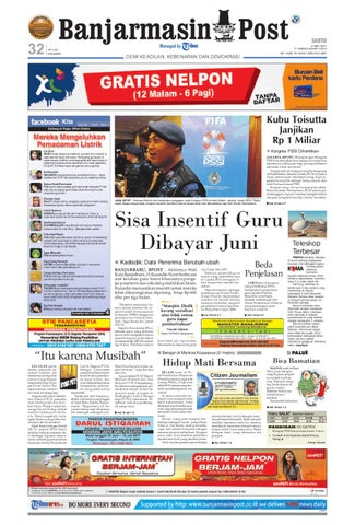 Banjarmasin Post Edisi Cetak Sabtu 21 Mei 2011 by Banjarmasin Post ... 60d9325531