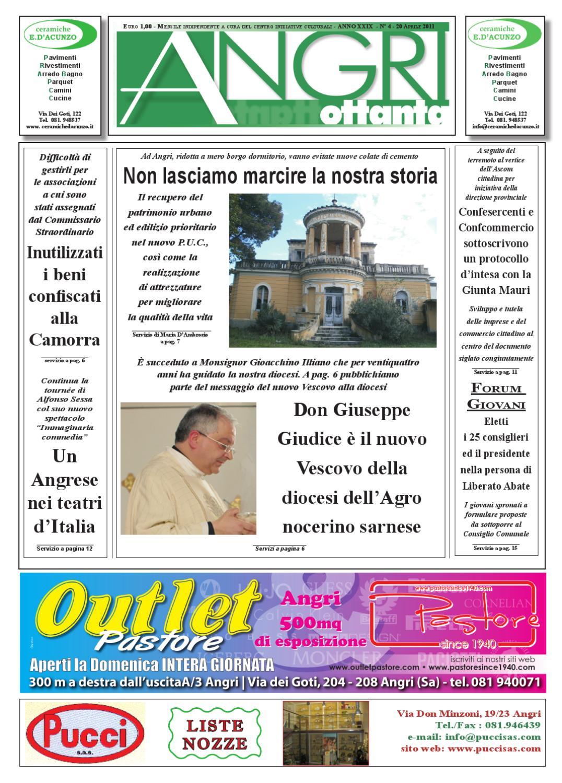 angri 80 aprile 2011 by fatti parole - issuu - Arredo Bagno Angri