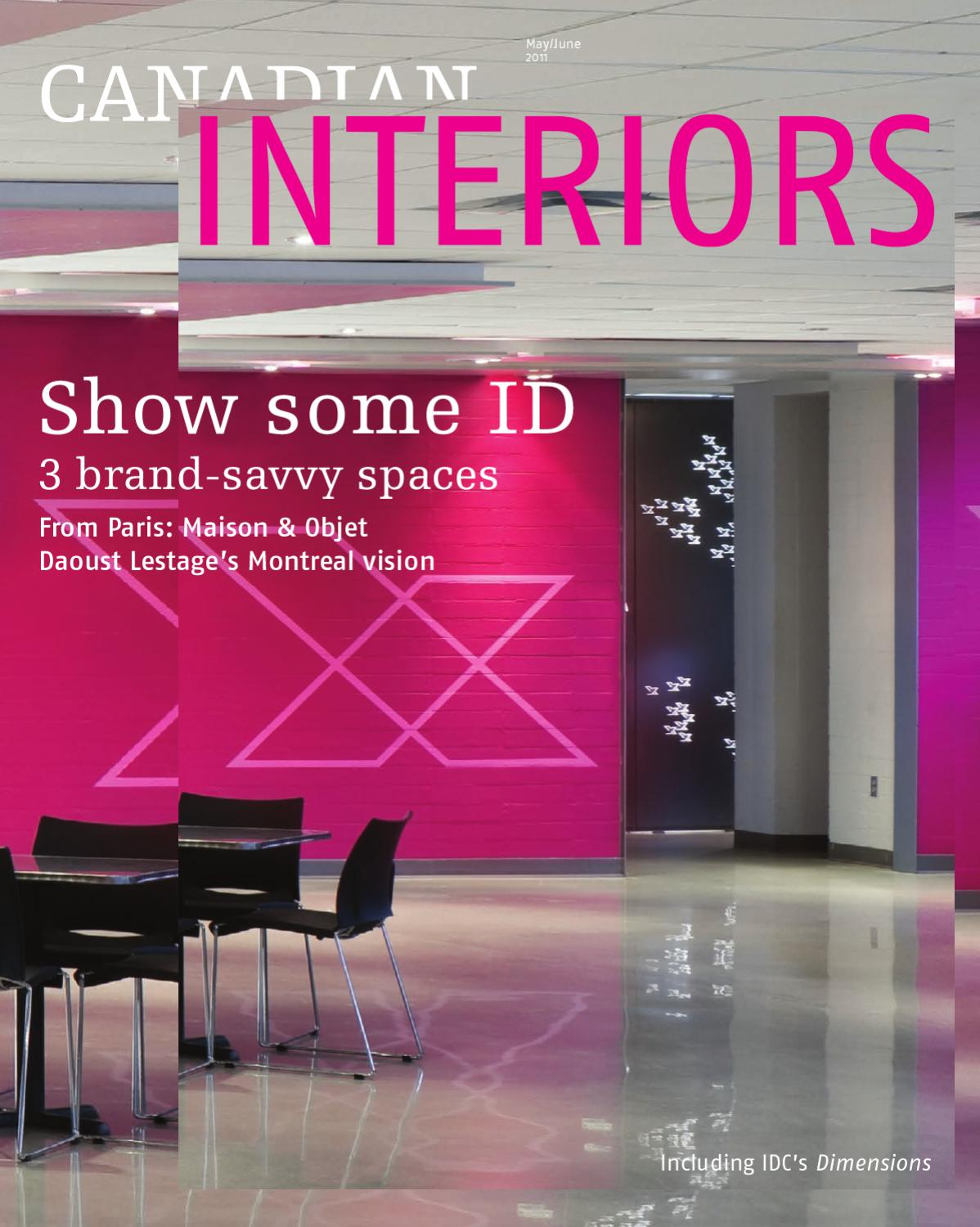 Defining Moment For Fledgling Neocon >> Canadian Interiors May June 2011 By Annex Business Media Issuu