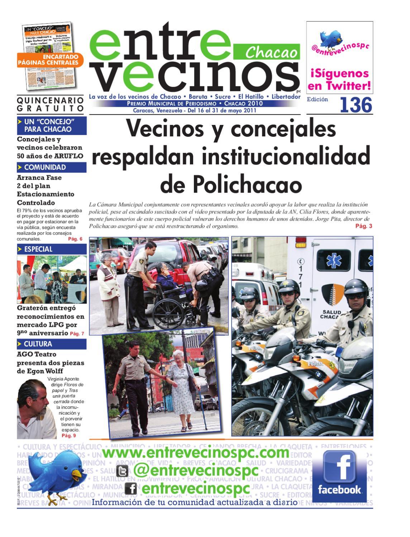 Entre Vecinos 136 by luis moreno - issuu
