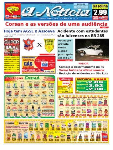 70e18de165 Edição dos dias 21 e 22 de maio de 2011 by Jornal A Notícia - issuu