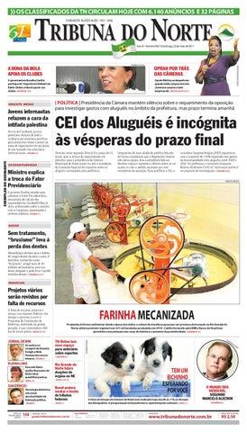 9c5b3e3e6ae Tribuna do Norte - 22 05 2011 by Empresa Jornalística Tribuna do ...