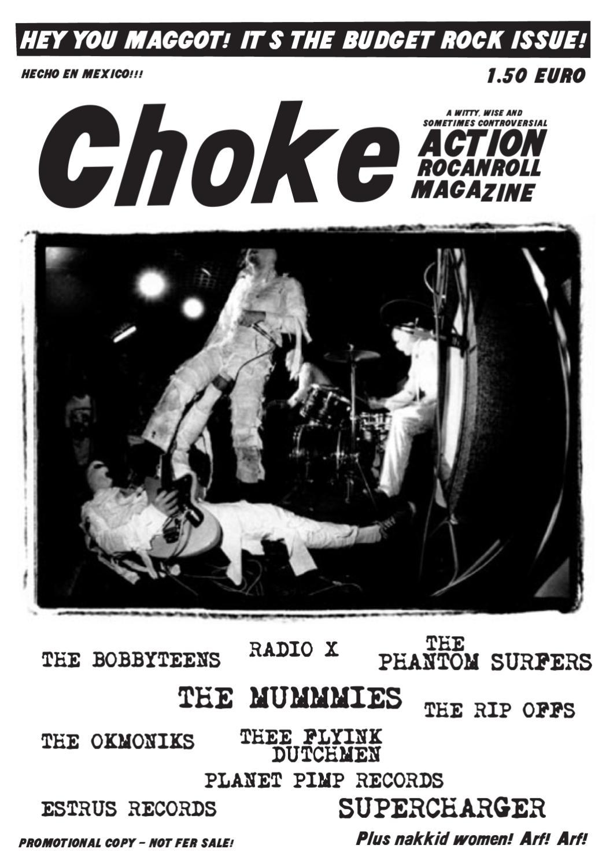choke action rocanrol zine 9 by Elmar Gimpl - issuu