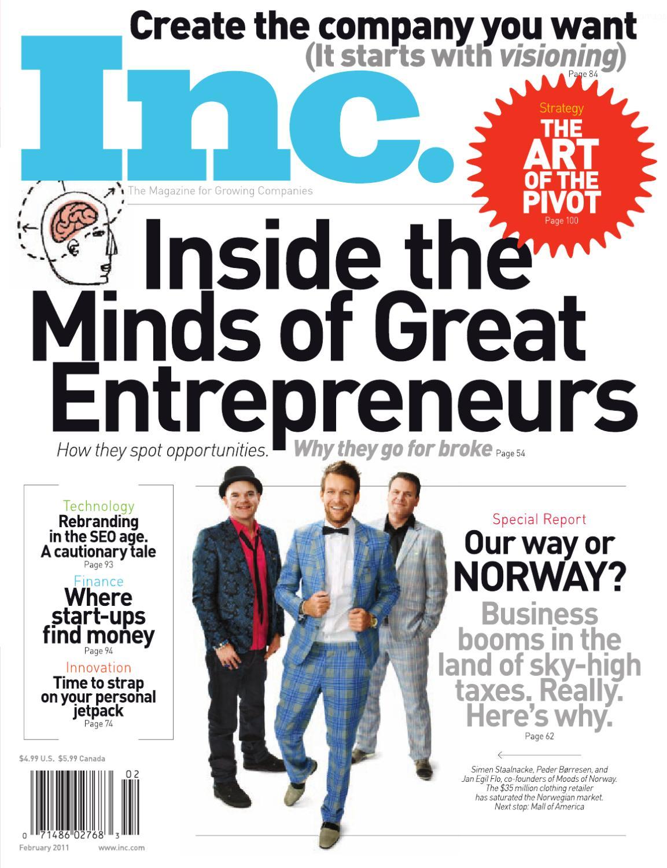 INC Magazine By Sandra Sotomayor