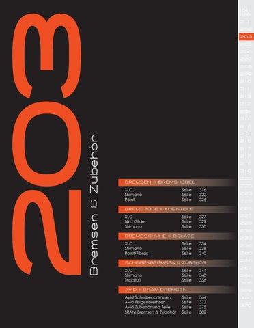 XLC V-Brake Fahrrad Bremse Bremsschuhe BS-V01 4er Set 70mm schwarz//rot