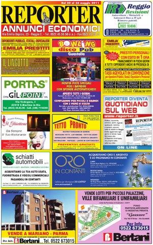big sale 7b3ba 3ca4c Reporter Annunci 20 Maggio 2011 by Reporter - issuu