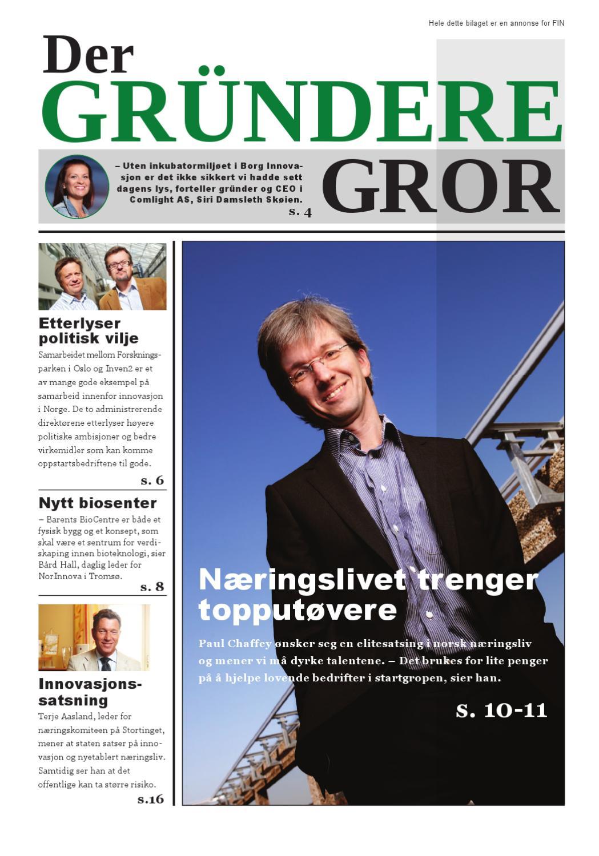 362d2910 FIN - Foreningen for innovasjonsselskaper i Norge by C media Scandinavia -  issuu