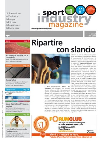 63fb2aaf7f3f0 02 SPORT INDUSTRY MAGAZINE by EDITRICE IL CAMPO - issuu