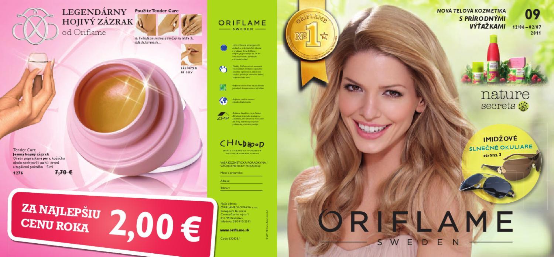 c0a31f2e029d Oriflame katalog 09 by Eliska Kulacsová - issuu