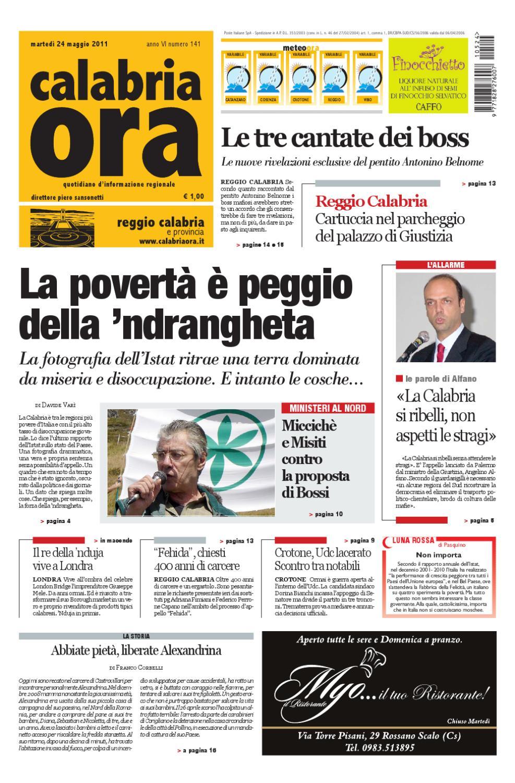 24-05-2011rc by Redazione CalabriaOra Redazione - issuu b312da7af59
