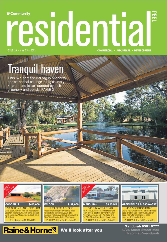 Residential Peel 26 By Communitynewspapergroup Issuu Special Order 0481112