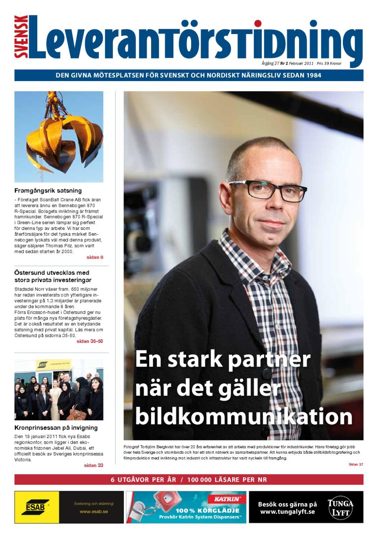 Svensk Leverantörstidning nr-1 2011 by Hexanova Media Group AB - issuu 4572d4dbe31b0