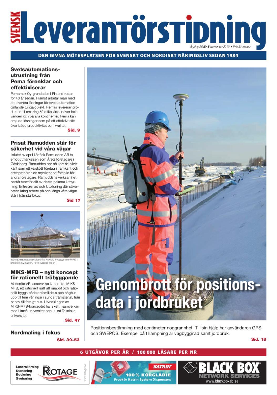 Svensk Leverantörstidning nr-2 2012 by Hexanova Media Group AB - issuu