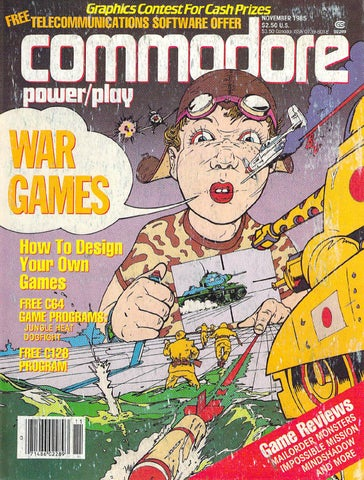 Commodore Power-Play 1985 Issue 17 V4 N05 Oct Nov by Marco ... ae68d1a1d