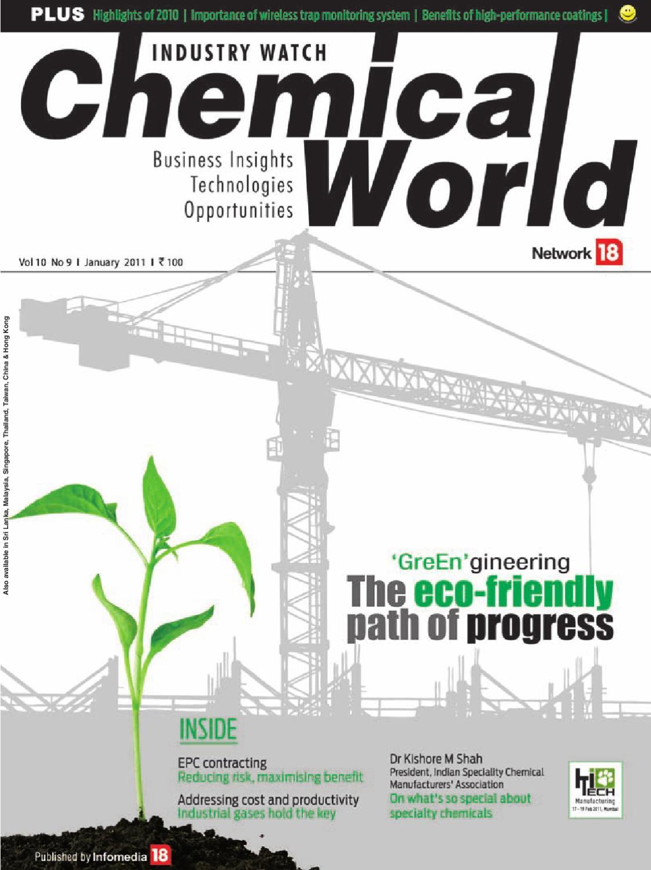 Chemical World - January 2011 by Infomedia18 - issuu