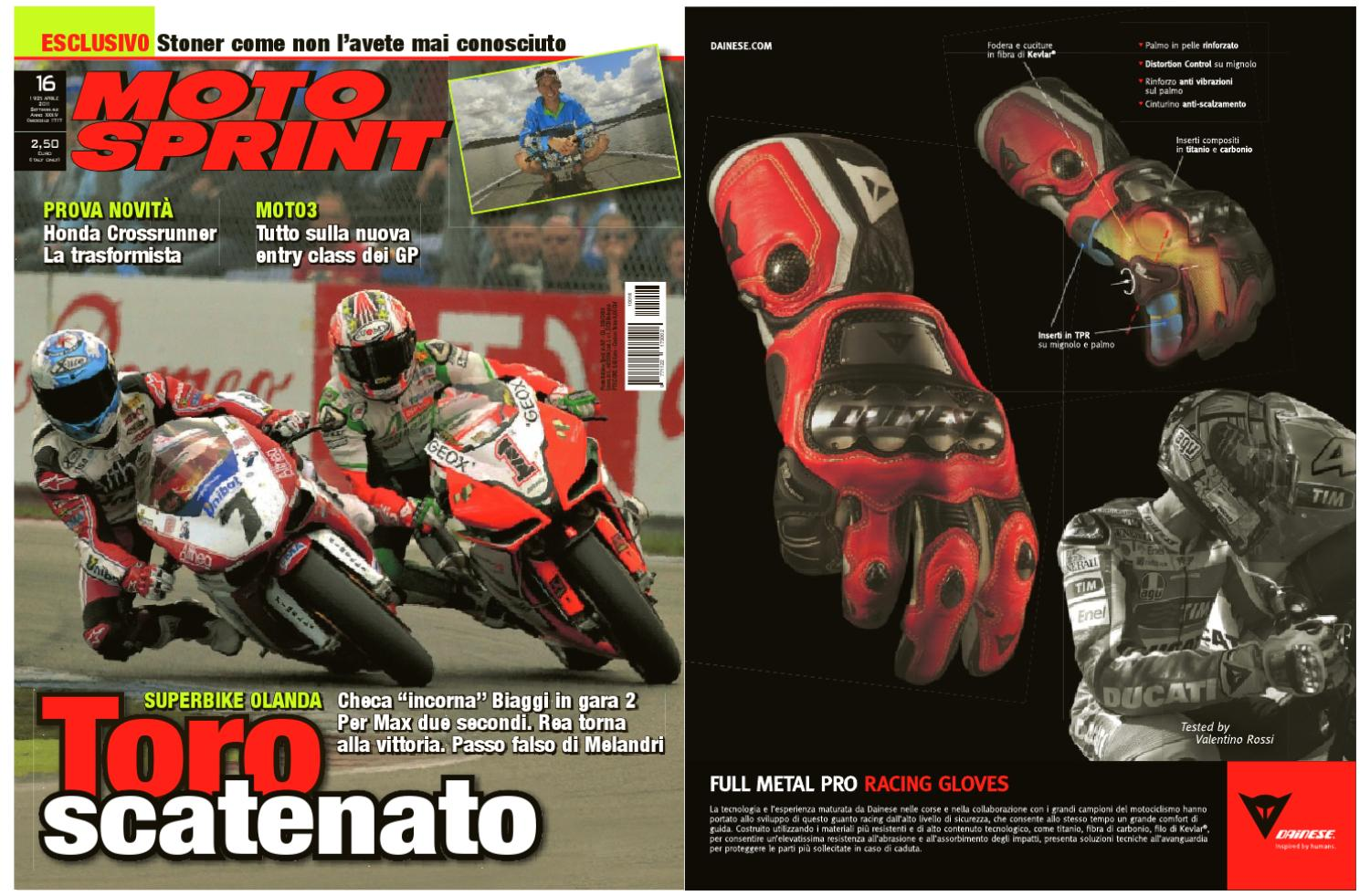 Sport Multimedia By Srl 19 16 Divisione Network Motosprint Aprile 6Yf6qwcgz