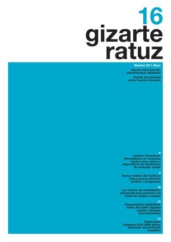 Gizarteratuz 16 By Siis Centro De Documentación Y