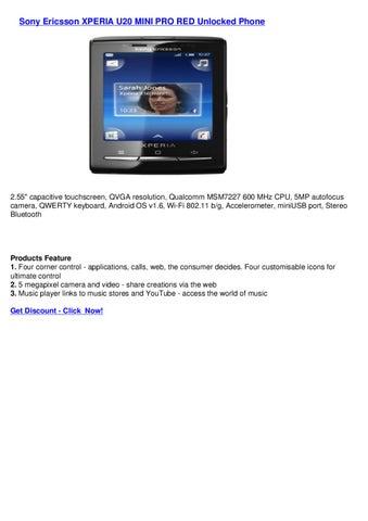 sony ericsson xperia x10 mini pro network unlock code free