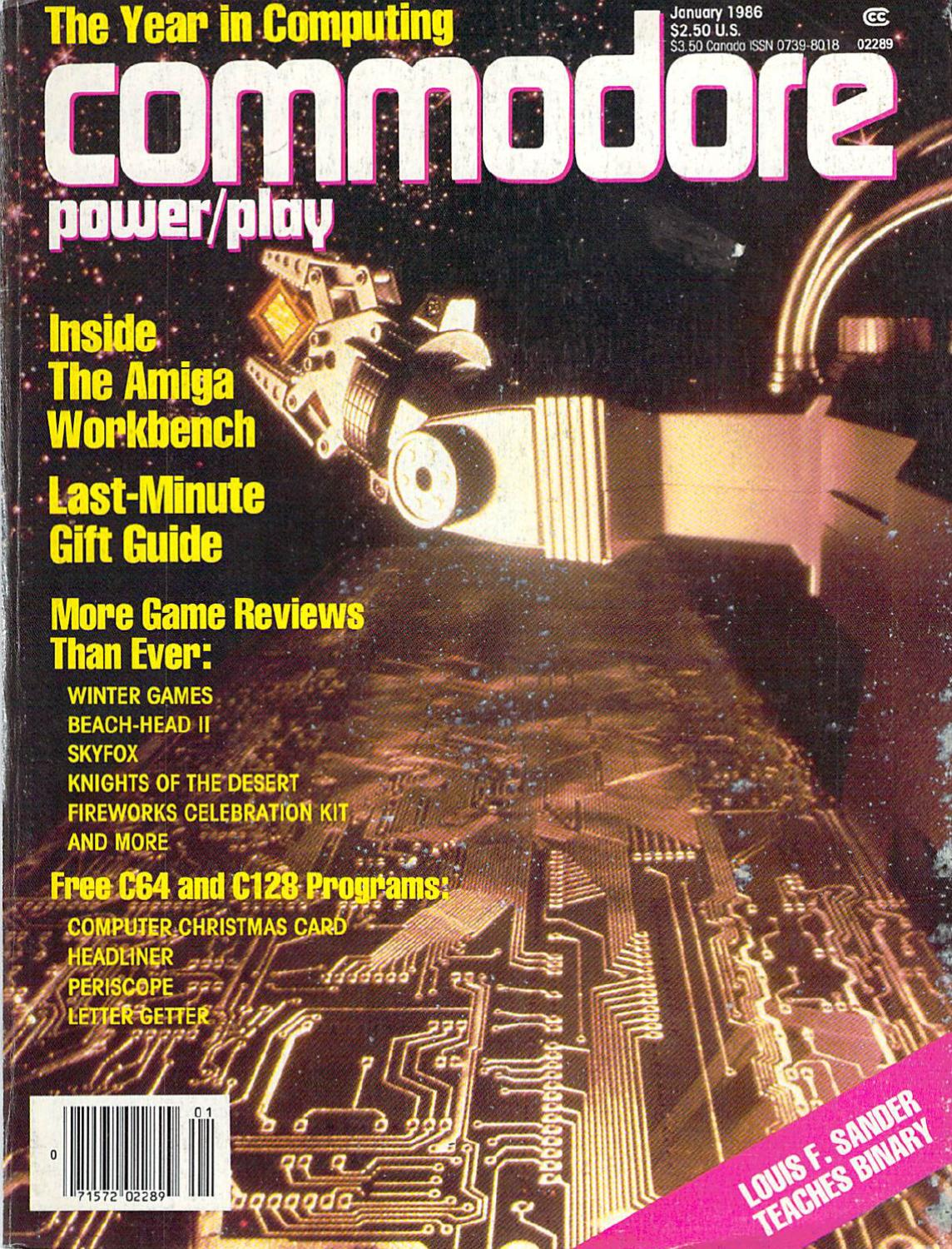 Commodore Power Play 1985 Issue 18 V4 N06 Dec Jan By Marco