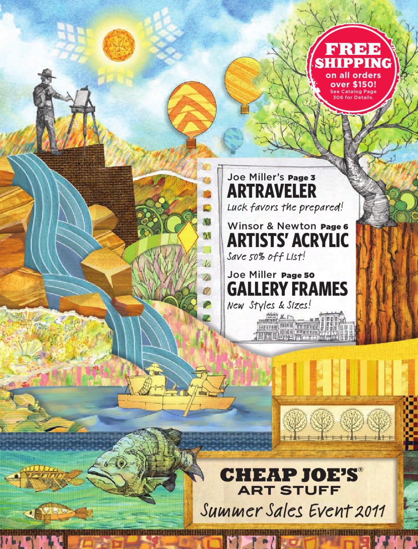 Cheap joe's 2011 Summer Art Supply Sales Event by Cheap ...