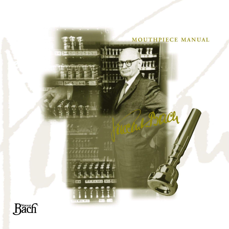26 Throat Genuine Bach Megatone 1-1//2C Silver Trumpet Mouthpiece #10 Backbore