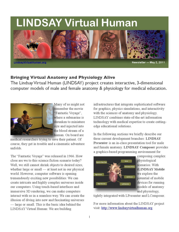 Virtual Human Project by Tim Hall.ca - issuu