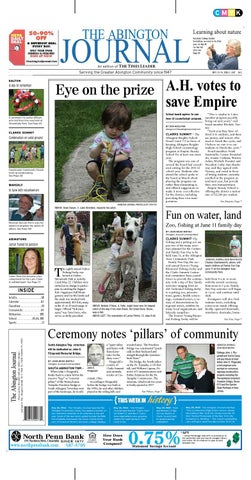 f264ab5f22 The Abington Journal 05-25-2011 by The Wilkes-Barre Publishing ...