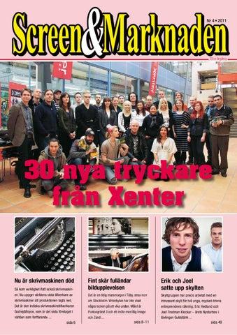 Screen Marknaden nummer 4-2011 by Martin Eriksson - issuu 1cc1b63a75e54