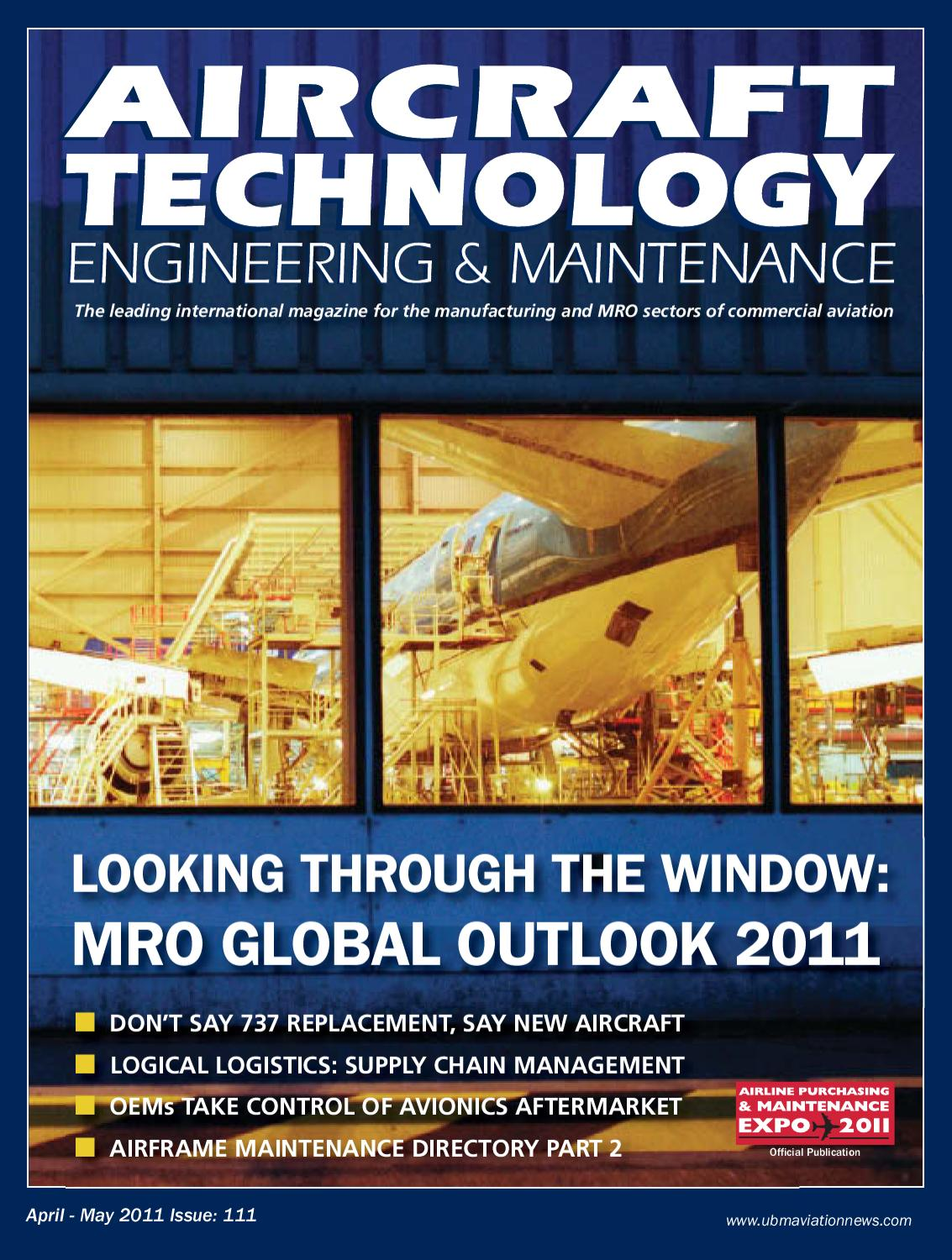 Aircraft Technology Engineering & Maintenance issue 111 by UBM Aviation  Publications - issuu
