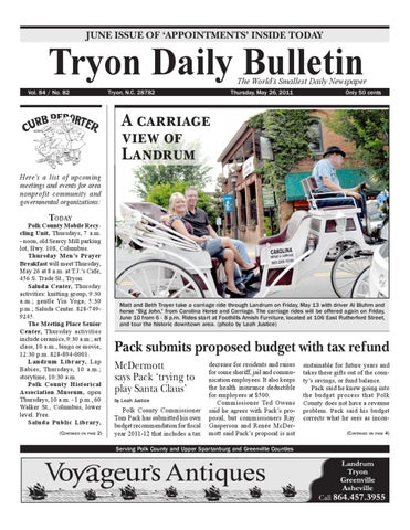 05 26 11 daily bulletin by tryon daily bulletin issuuAboutcombineddriving.htm #4