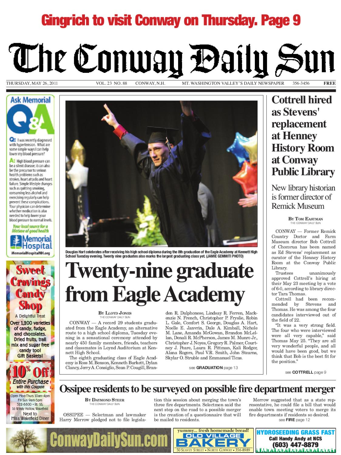 The conway daily sun thursday may 26 2011 by daily sun issuu fandeluxe Choice Image
