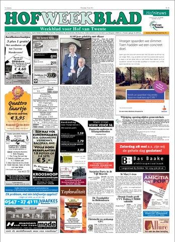 8e9a077dfb4 Hofweekblad week 21 by Regionale Uitgeversgroep - issuu