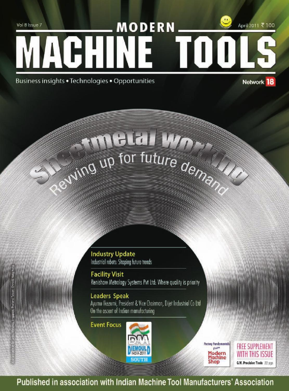 Modern Machine Tools - April 2011 by Infomedia18 - issuu