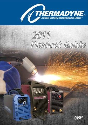 Thermadyne Product Guide By Rapid Welding Industrial