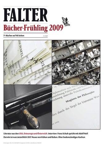 FALTER Bücherfrühling 2009 by Falter Verlagsgesellschaft m.b.H. - issuu