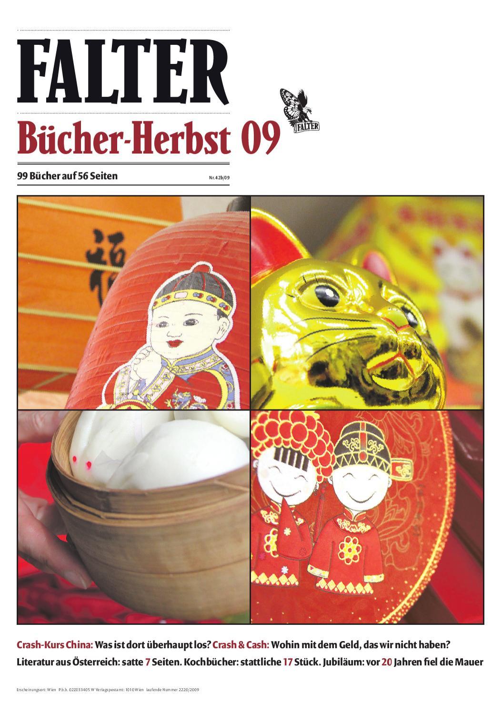 FALTER Bücherherbst 2009 by Falter Verlagsgesellschaft m.b.H. - issuu