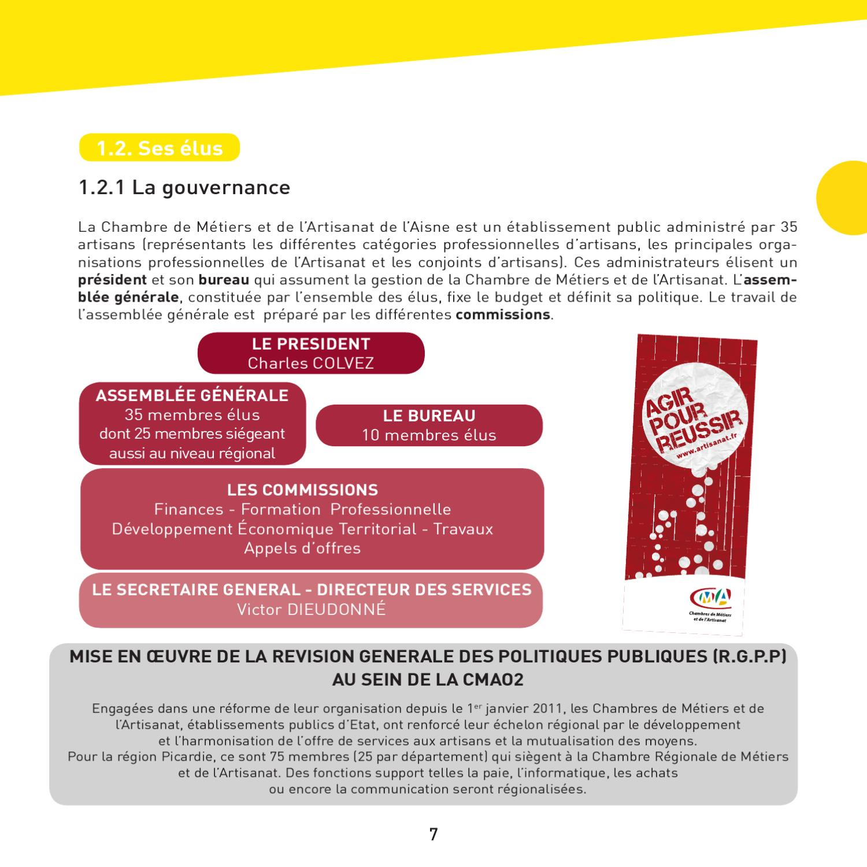 Rapport d 39 activit 2010 de la chambre de m tiers de l 39 aisne by michel vidal issuu - Chambre des metiers de l aisne ...