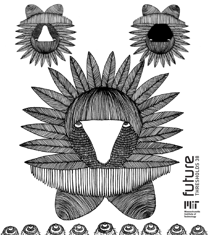 Monograph Magnete im 4er Set mit Messing-Finish